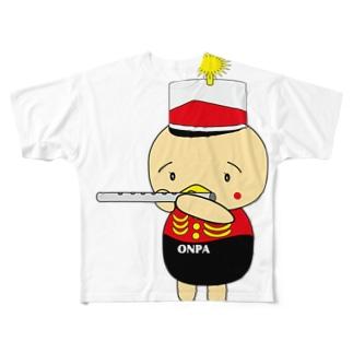 オンパ フルート Full graphic T-shirts