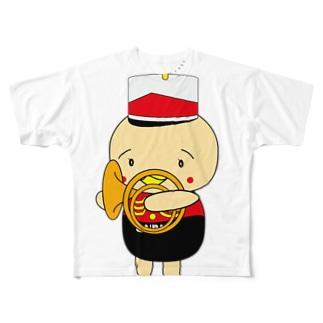 オンパ ホルン Full graphic T-shirts