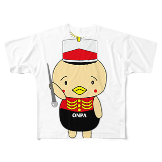 高田万十のオンパ ドラムメジャー Full graphic T-shirts