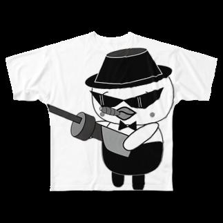高田万十のオンパ ダディ Full graphic T-shirts