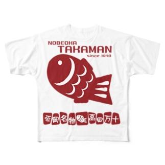 TAKAMAN フルグラフィックTシャツ