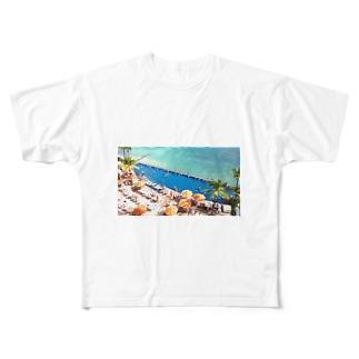ザ・ワイハ Full graphic T-shirts