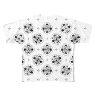 猫祭り Full graphic T-shirts
