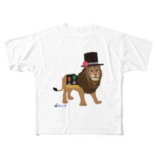 ライオンくん フルグラフィックTシャツ