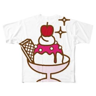 strawberry ice Full graphic T-shirts