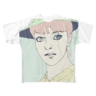 anna フルグラフィックTシャツ