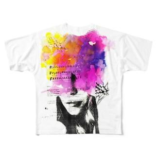 007_2 Full graphic T-shirts