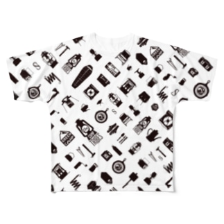 T11.1_Sumi フルグラフィックTシャツ