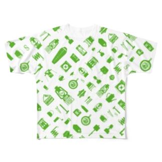 T11.3.Midori フルグラフィックTシャツ