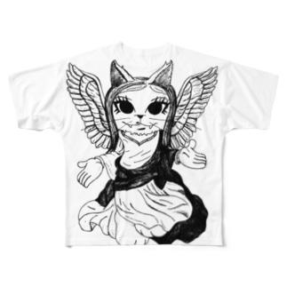 猫様 (劇団Camelot) Full graphic T-shirts