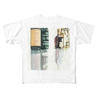バーカウンター フルグラフィックTシャツ