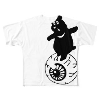 たまのりくま Full graphic T-shirts