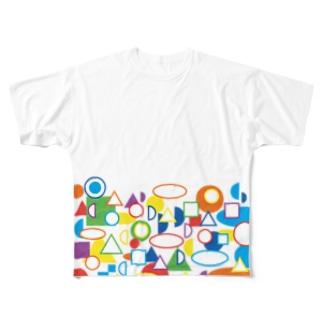 ムジカTシャツ フルグラフィックTシャツ