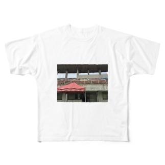 岸本の家 Full graphic T-shirts