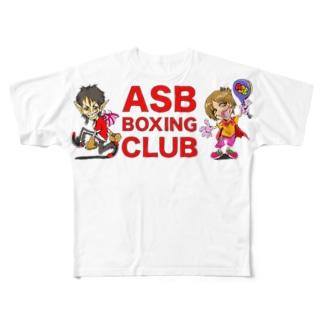 ASB BOXING CLUBのオリジナルアイテム! Full graphic T-shirts