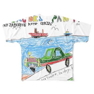 寝るせです パンツ フルグラフィックTシャツ