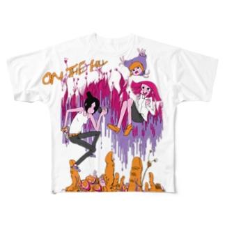 オン・ザ・ヒル Full graphic T-shirts