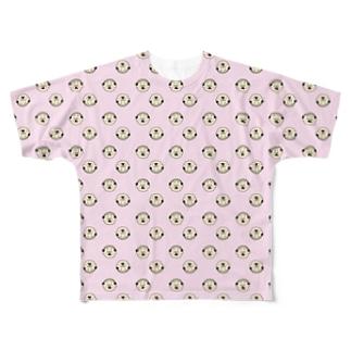 フマオだらけ Full graphic T-shirts