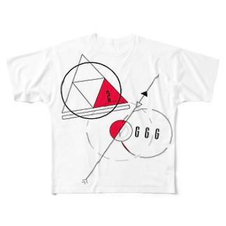 惑星 Full graphic T-shirts