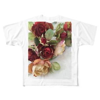 ロージー Full graphic T-shirts