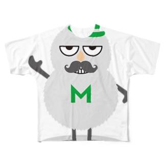 モフモフ Full graphic T-shirts