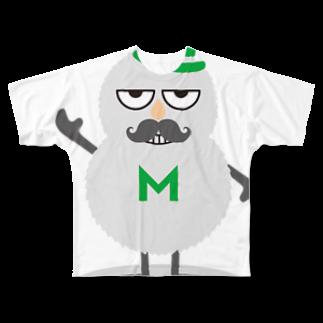 Mohoo!のモフモフ Full graphic T-shirts