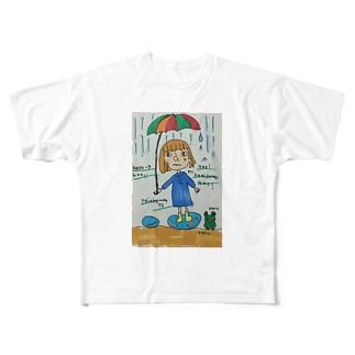台風 Full graphic T-shirts