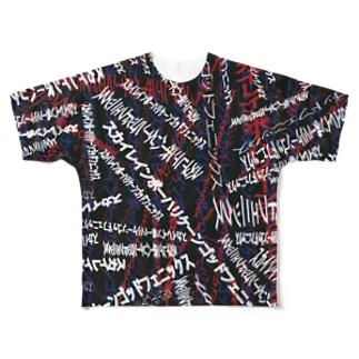 スカイレインボーハリケーンゴッドフェニックス Full graphic T-shirts