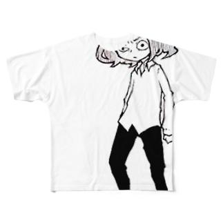 はだし Full graphic T-shirts