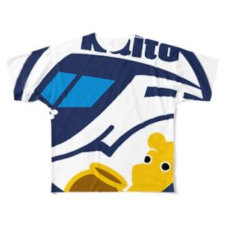 パ紋No.2769 Naito Full graphic T-shirts