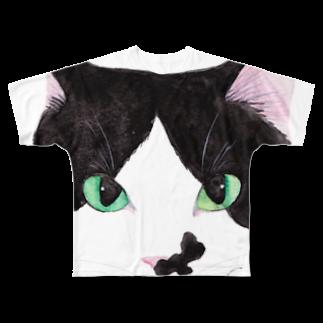 cheeのお結び課長フェイスフルグラフィックTシャツ