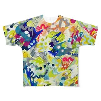 atms フルグラフィックTシャツ