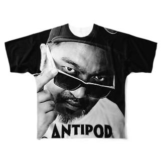 MC ANTIPOP Photo Full graphic T-shirts