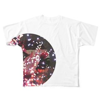 キラキラマグロ Full graphic T-shirts