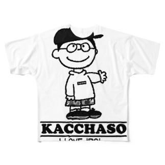 オフィシャル Full graphic T-shirts