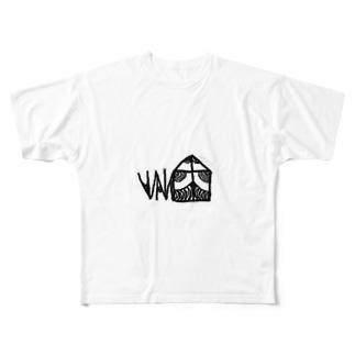 NANU devil フルグラフィックTシャツ