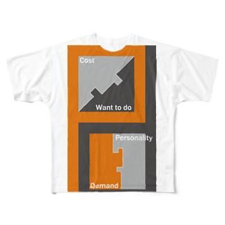 test2 フルグラフィックTシャツ
