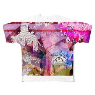 化物 Full graphic T-shirts