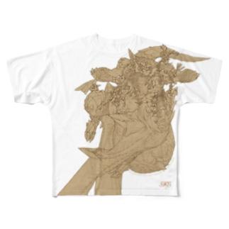 FAN-T_No.000 Full graphic T-shirts