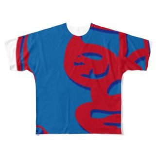 LUCHA58 Full graphic T-shirts