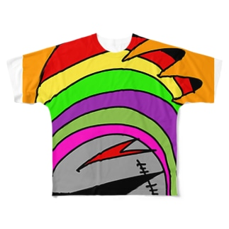 WARU Full graphic T-shirts