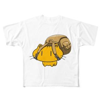 さすらい猫 Full graphic T-shirts