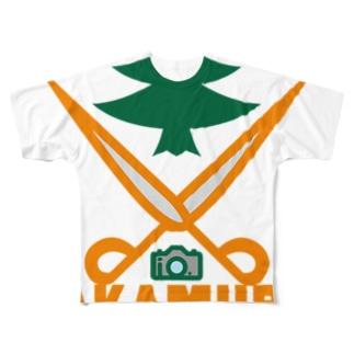 パ紋No.2802 TAKAMURA Full graphic T-shirts