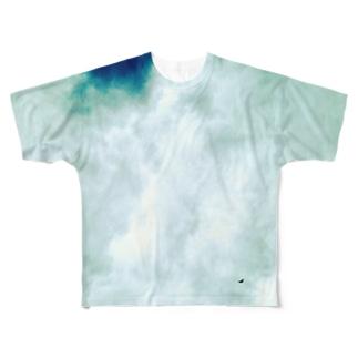 9月の空 フルグラフィックTシャツ