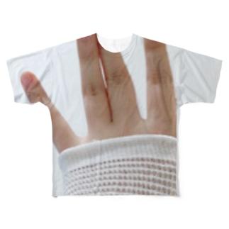 萌え包帯 Full graphic T-shirts
