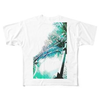 散々、好き勝手やってきたくせに、掌を返して「 エコ 」をなびかせる大企業 Full graphic T-shirts