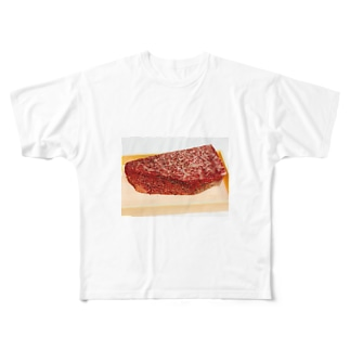 ラブ肉 Full graphic T-shirts