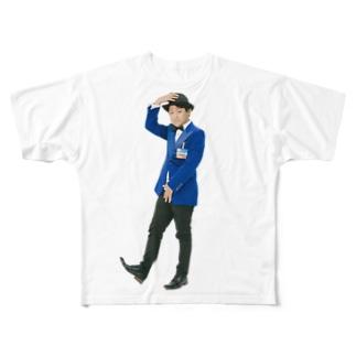 佐藤 健太郎 フルグラフィックTシャツ