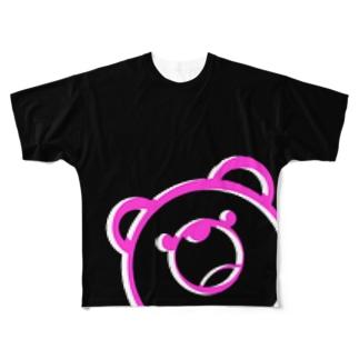 くまーんの夢 Full graphic T-shirts