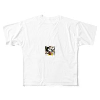 ミッキースウェット Full graphic T-shirts